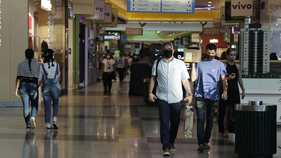Shopping na cidade de Campinas, no interior de São Paulo - Denny Cesare / Estadão Conteúdo
