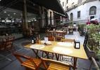 Restaurantes seguem as regras mas ficam vazios no 1º dia de reabertura em SP