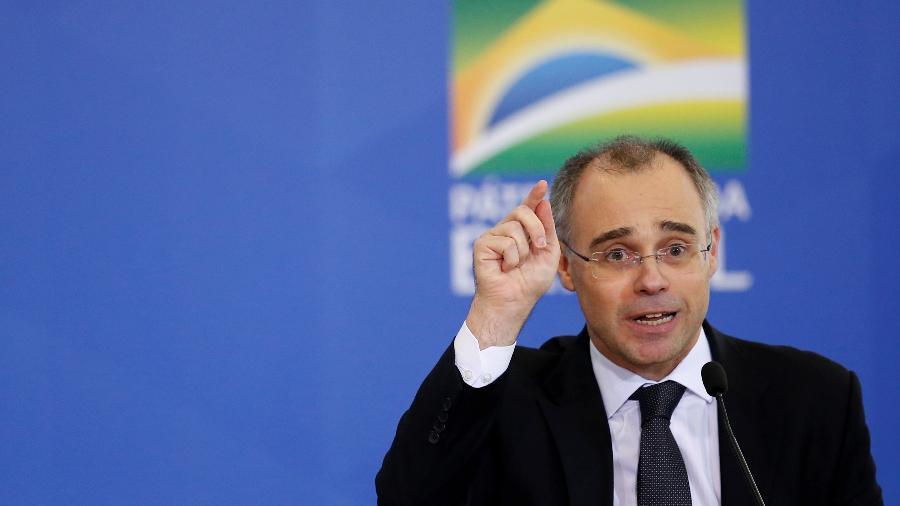 Ministro da Justiça e Segurança Pública, André Mendonça, pediu investigação após texto que sugere suicídio a Trump e Bolsonaro - Ueslei Marcelino