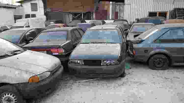 Carros abandonados  - Divulgação - Divulgação