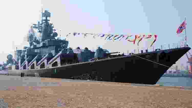 Almirante Vinogradov teria emitido alerta - Getty Images - Getty Images
