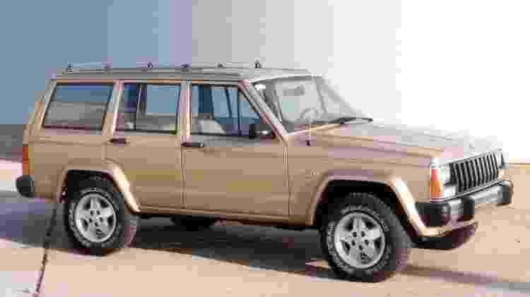 Jeep Cherokee (geração XJ) - Divulgação  - Divulgação
