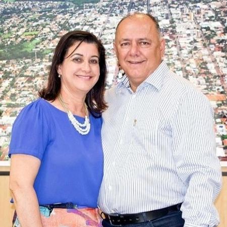 Deputado José Carlos Schiavinato e sua mulher, Marlene Schiavinato - Reprodução / Instagram