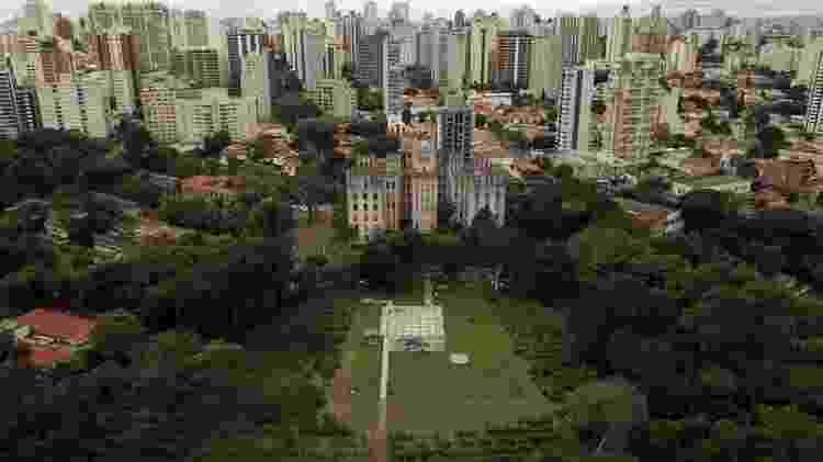 Transações de imóveis cresceram no Estado de SP durante a pandemia; acima, vista aérea da capital - Reuters - Reuters