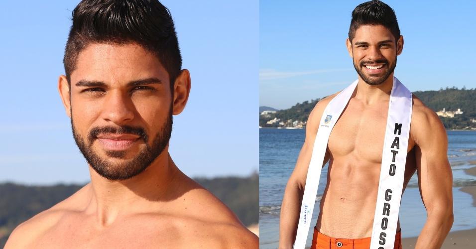MATO GROSSO - Eliezer Vagner Vieira de Souza, 23, personal trainer