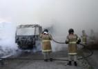 Tráfico queima ônibus, trava trânsito e deixa 5.800 alunos sem aula no Rio - Jose Lucena/Futura Press/Estadão Conteúdo