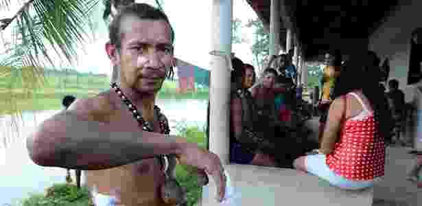 índio Francisco Jansen - Beto Macário/UOL - Beto Macário/UOL