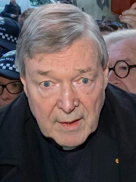 25.jul.2017 - O cardeal George Pell, tesoureiro do Vaticano, comparece a corte em Melbourne, na Austrália - Mark Dadswell/Reuters