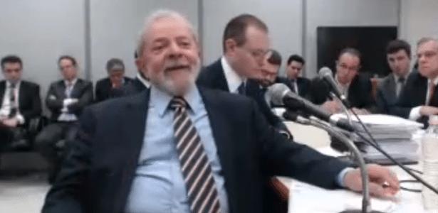 Lula depõe ao juiz Sergio Moro em Curitiba