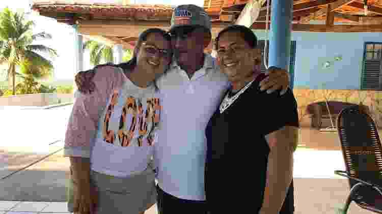 Irmãs reencontram o pai após 34 anos - Divulgação/Polícia Civil de Goiás - Divulgação/Polícia Civil de Goiás
