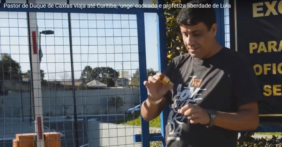 Pastor Daniel Elias ungiu cadeado de unidade da PF em que Lula estava preso
