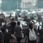 Manifestação antirracista em Paris, na França - Reprodução