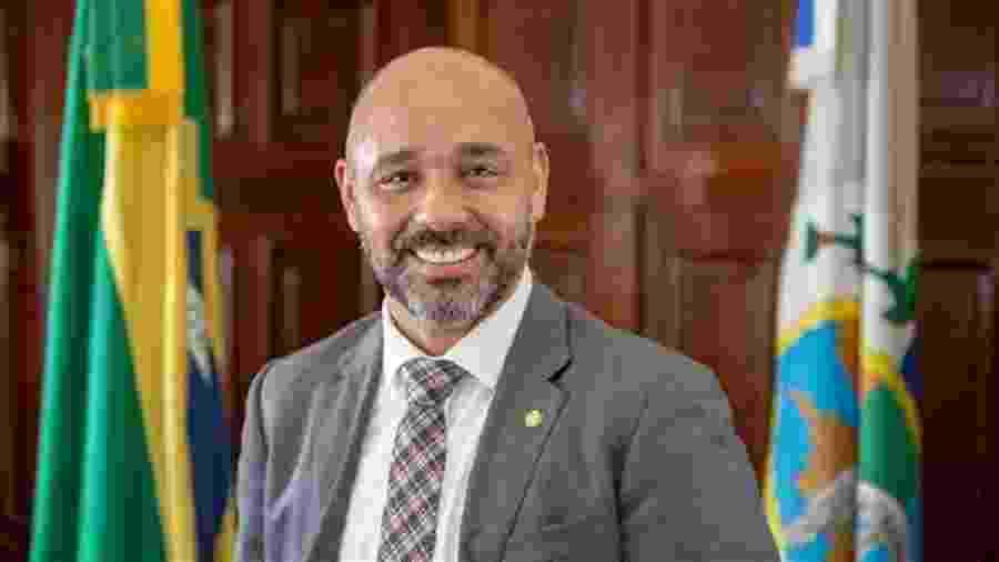 O deputado estadual Márcio Pacheco (PSC-RJ) - Divulgação/Alerj