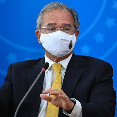 O ministro da Economia, Paulo Guedes - Mateus Bonomi/AGIF/Estadão Conteúdo