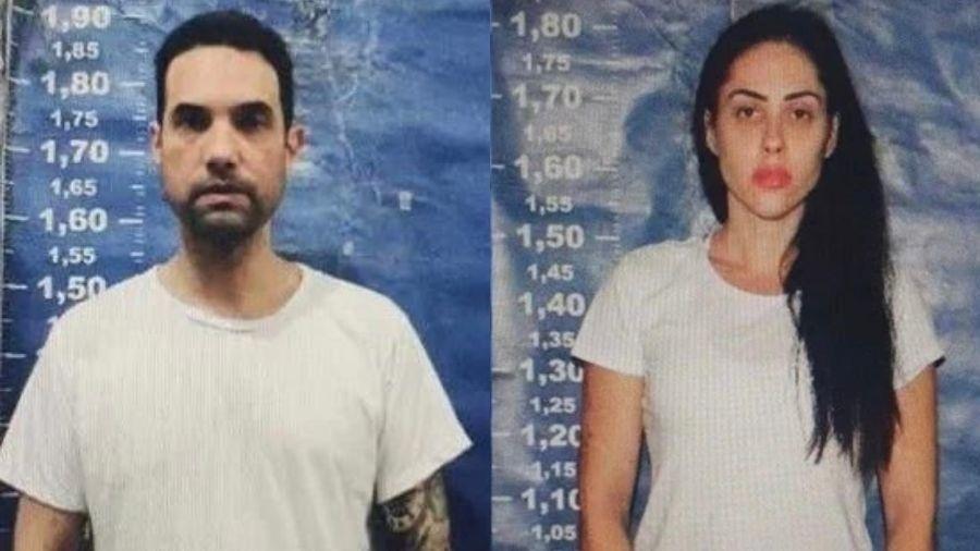 Dr. Jairinho e Monique Medeiros foram denunciados pelo MPRJ por morte de Henry - Divulgação/Seap