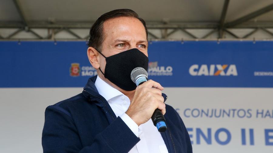 O governador de São Paulo, João Doria acenou para o presidente nacional do DEM, ACM Neto - Divulgação/Flickr Governo do estado de SP