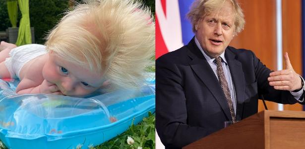Premiê britânico   Bebê nasce cabeludo no Reino Unido e é comparado a Boris