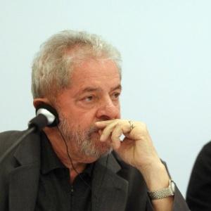 O ex-presidente Luiz Inácio Lula da Silva durante conferência em maio - Felipe Rau - 22.jun.2015/Estadão Conteúdo