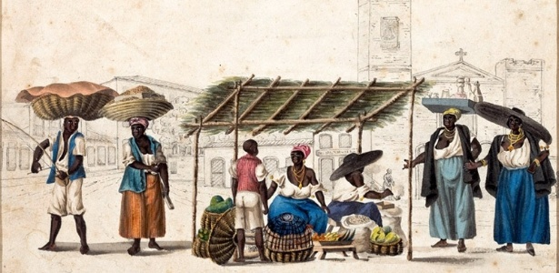 Quitandeiras da Lapa (1819-1820, Rio de Janeiro)