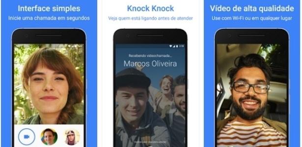 App de videochamadas Duo, do Google