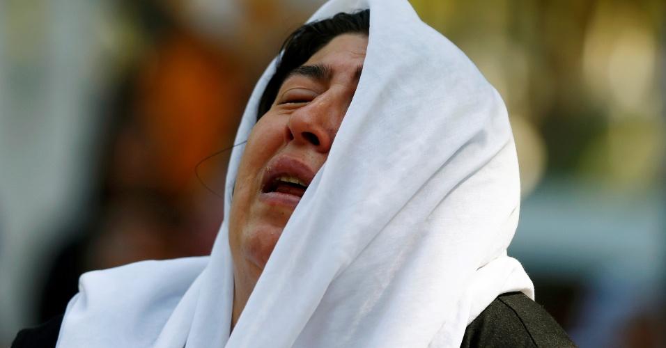 """21.ago.2016 - Atentado contra casamento curdo na cidade de Gaziantep, no sudeste da Turquia, deixou dezenas de pessoas mortas. Embora ninguém tenha assumido o ataque, o presidente turco, Recep Tayyip Erdogan, disse que foi """"provavelmente cometido pelo Daesh"""" (Estado Islâmico)"""