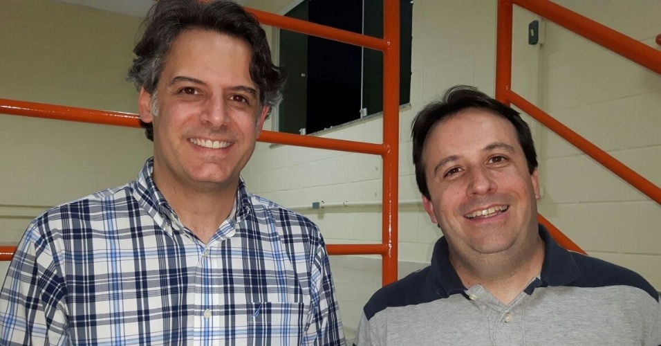 Alessandro Rico (à esq.) e Fábio Neves, donos da franquia Don Churro