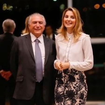 Amaury Junior vai conversar com o presidente Michel Temer e a mulher, Marcela - Beto Barata/PR
