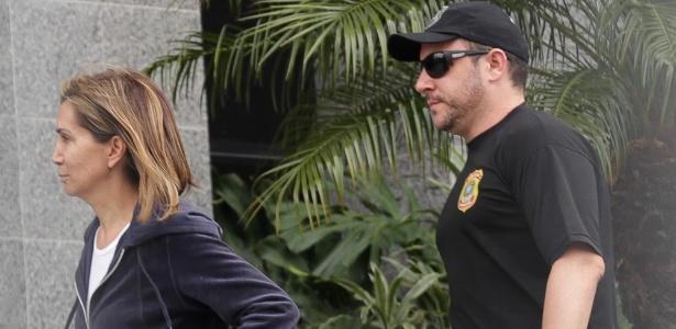 Prefeita de Ribeirão Preto (SP), Dárcy Vera (PSD) chega à sede da Polícia Federal em SP