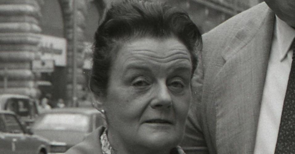 Clare Hollingworth, a ex-correspondente de guerra britânica que noticiou primeiro o início da Segunda Guerra Mundial