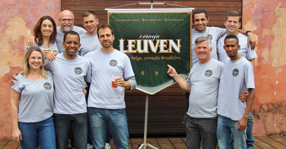 Microcervejaria Leuven equipe