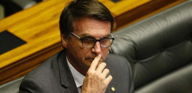27.set.2017 - Jair Bolsonaro na Câmara dos Deputados