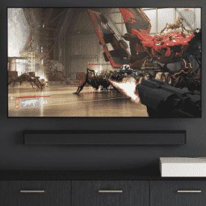 HP Omen X Big Format Gaming Display - Reprodução