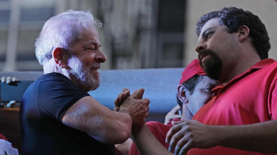 Lula foi condenado por esquema envolvendo tríplex, invadido por Boulos após prisão do ex-presidente - 24.jan.2018 - Nelson Antoine/UOL