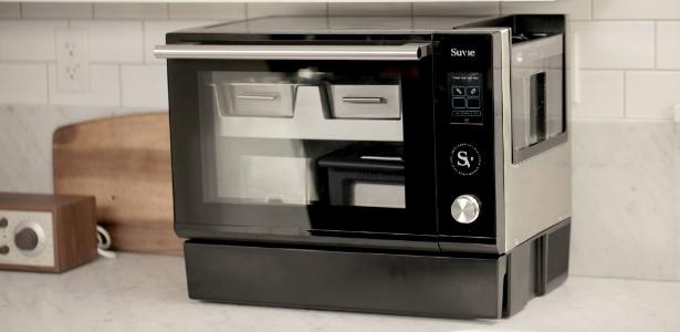 O robô de cozinha Suvie refrigera alimentos e depois os cozinha