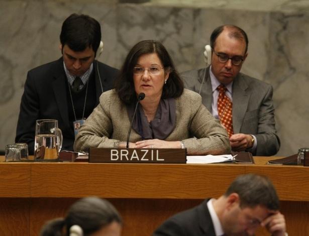 A embaixadora brasileira Maria Luísa Viotti, chefe de gabinete de Guterres - Divulgação