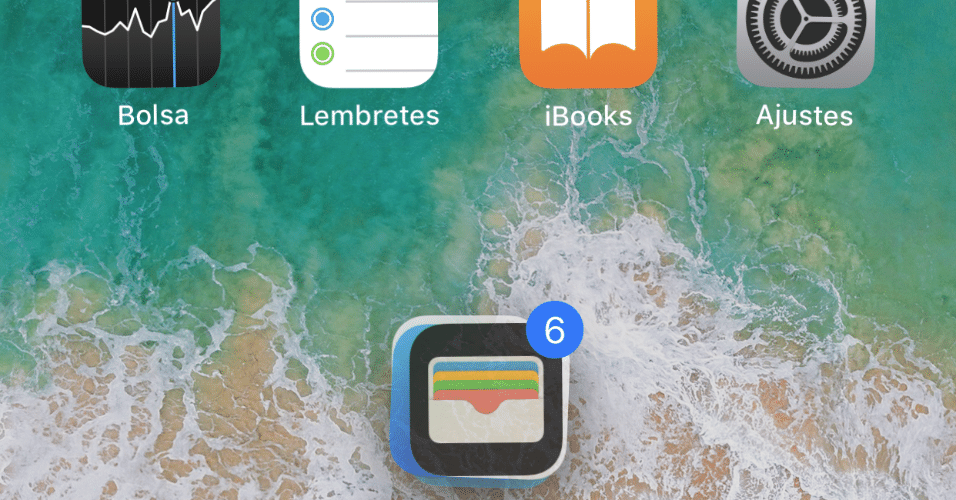 Agrupamento de apps no iPhone