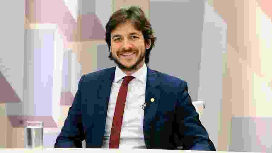 11.dez.2018 - Deputado Pedro Cunha Lima (PSDB-PB) durante entrevista - Cleia Viana/Câmara dos Deputados