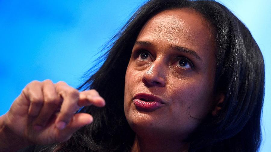 Isabel dos Santos é acusada pelo governo da Angola de causar mais de US$ 5 bilhões de prejuízo ao país; ela nega a denúncia - Toby Melville