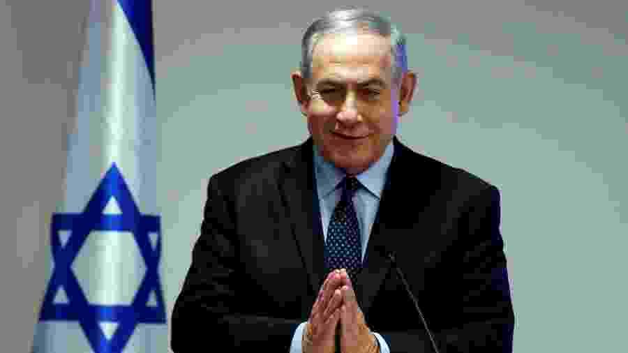 Primeiro-ministro de Israel, Benjamin Netanyahu, comemorou acordo anunciado por Trump - Ammar Awad/File Photo/Reuters