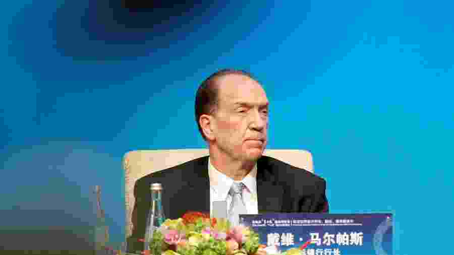 Presidente do Banco Mundial, David Malpass - FLORENCE LO