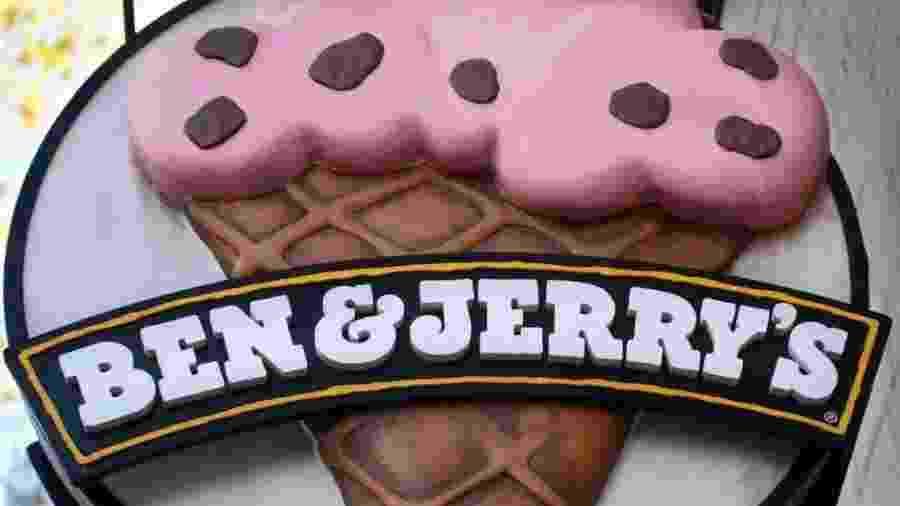 """A marca de sorvete Ben & Jerry""""s é controlada pelo conglomerado Unilever - Getty Images"""