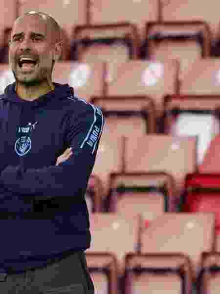 Técnico do Manchester City, Pep Guardiola - XXSTRINGERXX xxxxx