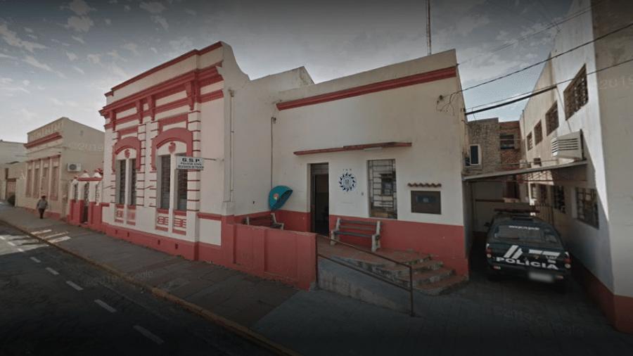 Caso aconteceu em junho, próximo à Delegacia de Polícia de Pronto Atendimento de Alegrete (RS) - Reprodução/Google Maps