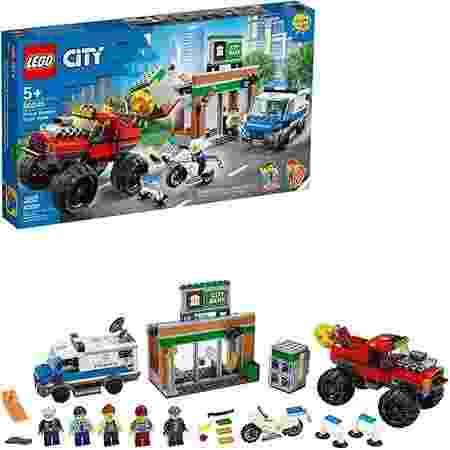 Lego CITY Assalto Policial ao Caminhão Gigante - Lego - Divulgação - Divulgação