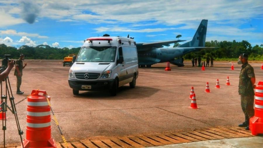 Ontem, o governo de Rondônia transferiu 15 pacientes para o Paraná; mais hospitalizados devem ir para o MS - Ésio Mendes/Governo de Rondônia
