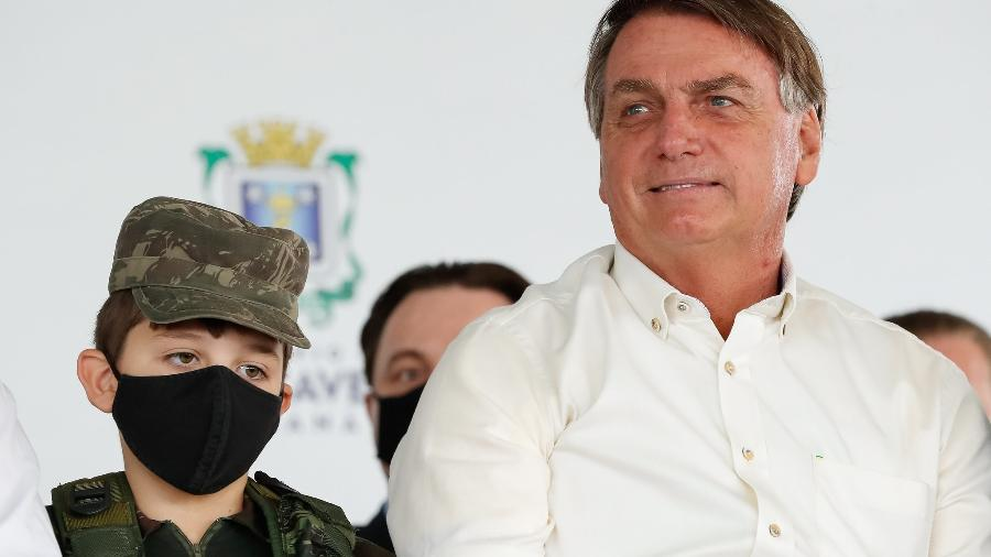 """""""O Parlamento deu sinais de que quer trabalhar. Não quer ficar refém de uma só pessoa"""", disse Bolsonaro - Alan Santos/PR"""