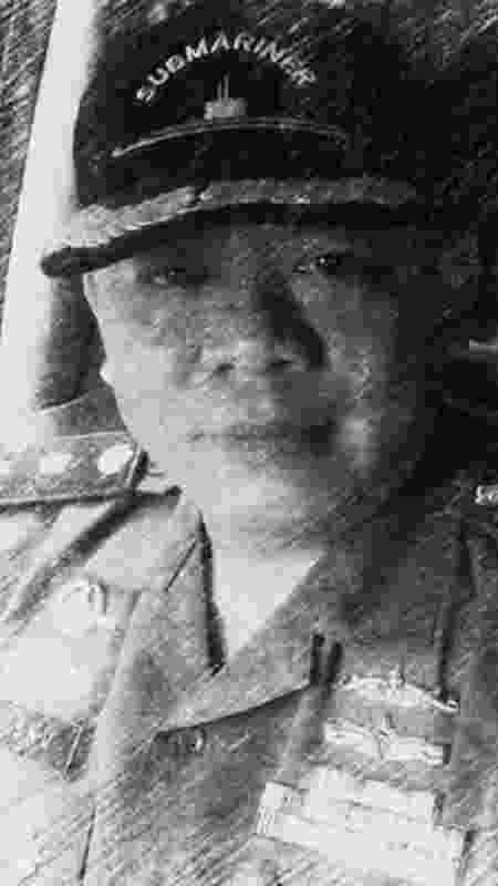 O major Wisnu Subiyantoro está entre os 53 tripulantes desaparecidos - Dok.keluarga - Dok.keluarga