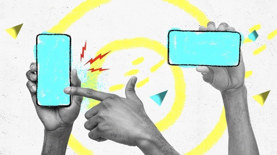 Qual é o melhor celular intermediário de 2021? - Arte/UOL