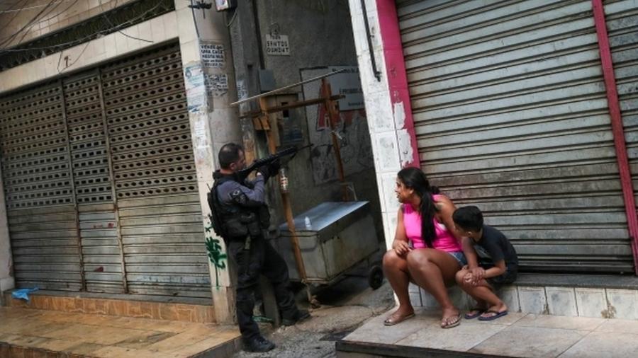 Operação da polícia no Jacarezinho terminou com 28 pessoas mortas - REUTERS/Ricardo Moraes