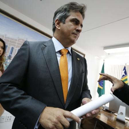O senador Ciro Nogueira em seu gabinete - Pedro Ladeira-6.abr.2016/Folhapress